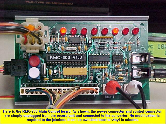 Data Sync Engineering's - Vinyl to CD Converter for Rowe Jukes